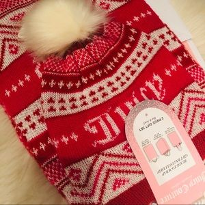 NWT Juicy Couture Scarf and Hat Set